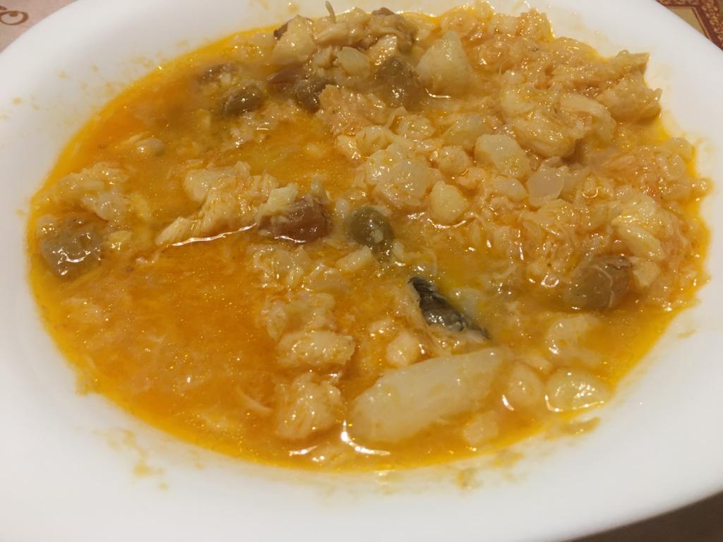 Zuppa di baccalà ANTICA RICETTA BENEVENTANA